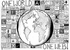 One World - One Web (psd) Tags: world poster globe geek map drawing earth web web20 meme cc creativecommons webstandards drm longtail eff theweb l10n owf i18n owow vrm microformats theyworkforyou openid barcamp xmpp owd oneweb freeourdata oneworldoneweb i16n owd08 owd2008
