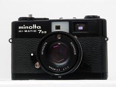 Minolta Hi-Matic 7sII Black -1 (Lordcolus) Tags: camera minolta cam himatic7sii