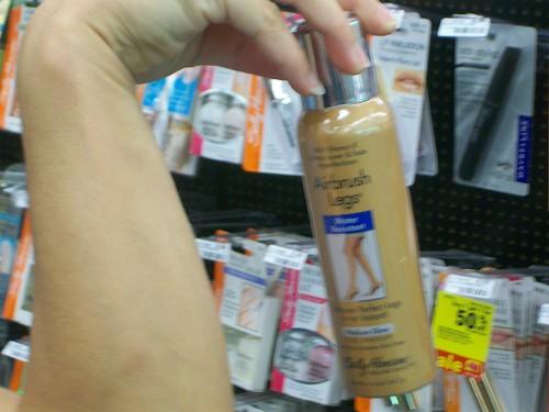 leg makeup