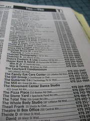 The Phone Book Listings