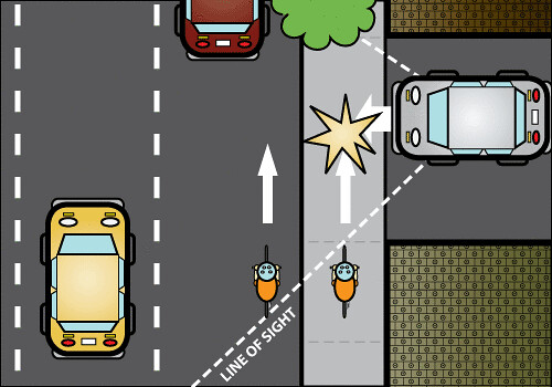 Driveway Hazard Of Sidewalk Riding