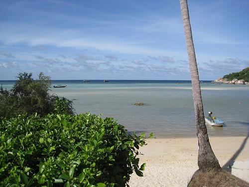 Southern beach on Koh Tao