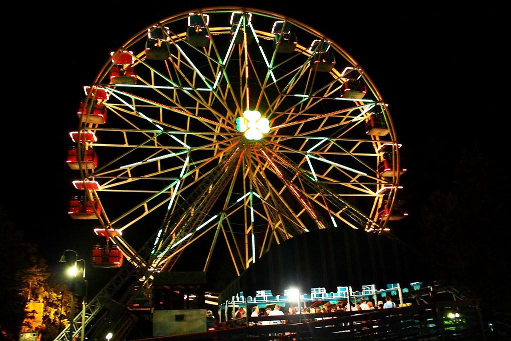 Ferris wheel at Canobie Lake Park