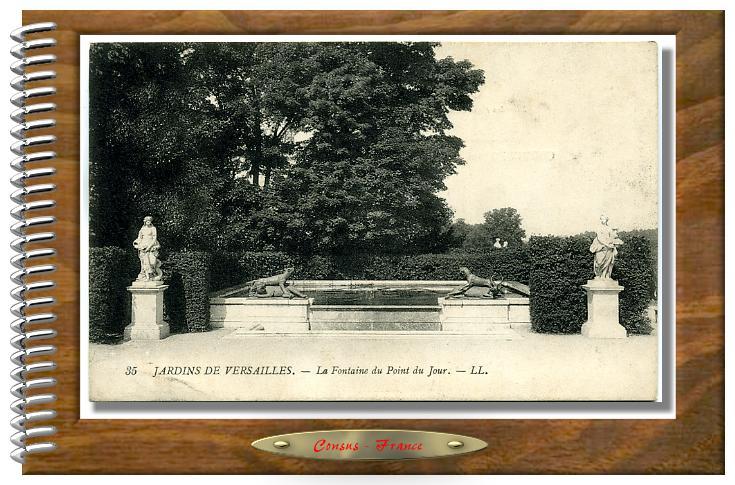 VERSAILLES-Parc-La Fontaine du Point du Jour