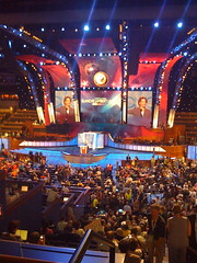 Pepsi DNC podium