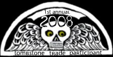 Tombstone Trade Participant Badge 2008