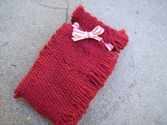 Weaved Red Pouch