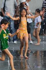 20080907_046 (*chiwai*) Tags: hk motion cute water fountain rain kids children happy hongkong drops action joy innocent lovely lantau citygate tungchung