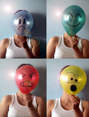 emoticons (Asja.) Tags: me wow sad emoticons angry emotions baloons selfie delighted