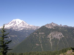 VIews on way to Shriner peak summit.
