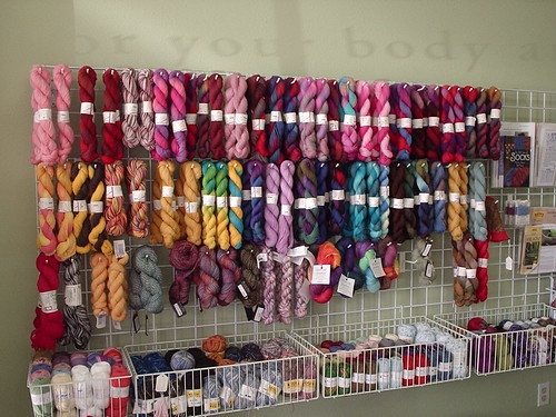 The great wall of Lorna's Laces