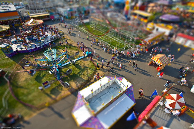 Miniature Fair Attendees