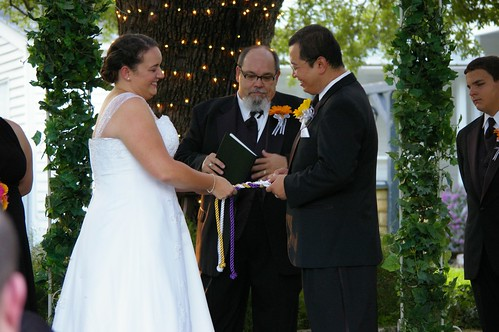 Sharing a Private Joke at our wedding