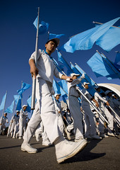 Blue flags after Arirang - North Korea (Eric Lafforgue) Tags: pictures travel blue feet canon photo war asia flag picture korea kimjongil asie coree journalist journalists northkorea pyongyang  dprk coreadelnorte arirang juche kimilsung nordkorea lafforgue   4967 ericlafforgue  massgames  coredunord coreadelnord  northcorea coreedunord rdpc  insidenorthkorea  rpdc  pyongynag  coriadonorte  kimjongun coreiadonorte