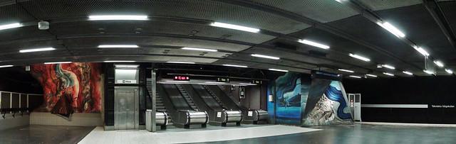 Tekniska Högskolan station