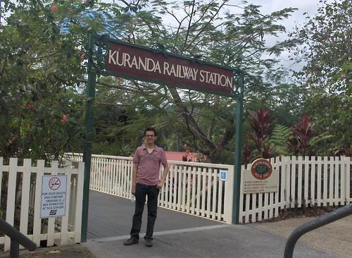 Estación de trenes de Kuranda