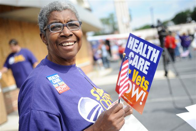 2008 Leadership Assembly Rally for Veterans Health Care 616 by seiu1199p