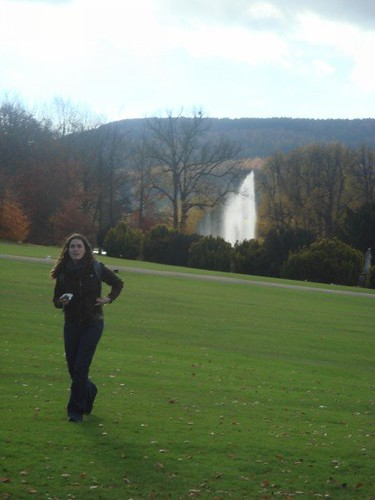 Jo at Chatsworth
