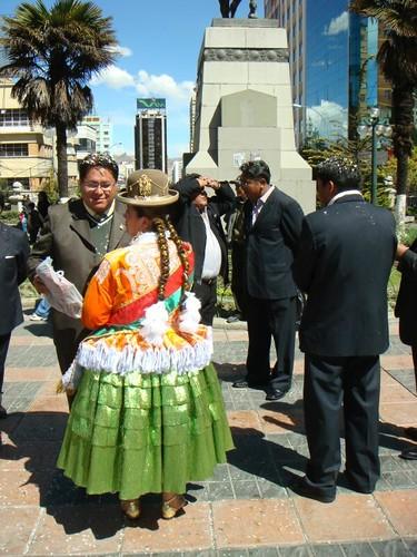 Fiesta en La Paz...