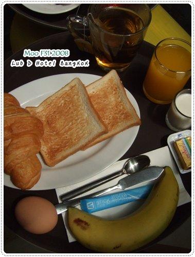 Lub d Hotel-早餐全部