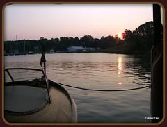 Sun Rise.... (Trader Doc) Tags: camera morning light sky sun water marina sunrise wooden flickr fujifilm yachts doc midatlantic irvingtonva chesapeakebayarea theworldinpink carterscreekva northernneckvairvington traderdoc yachtsvintage