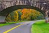 Blue Ridge Parkway Bridge (Robert Donovan) Tags: trees tree fall nature leaves fence landscape virginia nc nikon northcarolina blueridgeparkway 50mmf14 autmn d300 robertdonovan robertcdonovan httprobertdonovanphotographycom httptwittercomrobertdonovan