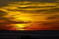 Why? (Assaf_F) Tags: clouds sunrise canon fire bermuda 40d