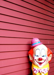 IT (Lindsey Mae) Tags: hat clown balloon bowtie rednose clownmakeup