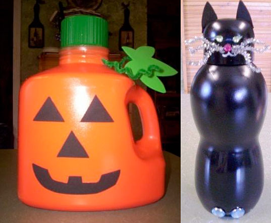 Wenona Napolitano Homemade Halloween Decorations