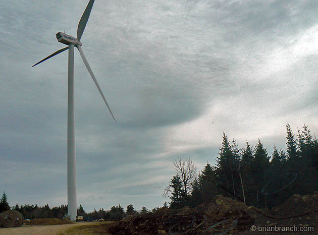 Prosser Brook Wind Farm, NB