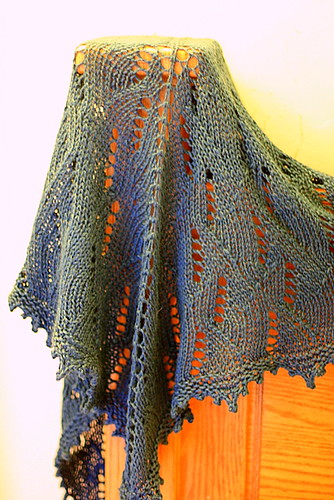 sun ray shawl