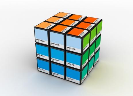Pantone Rubix cube