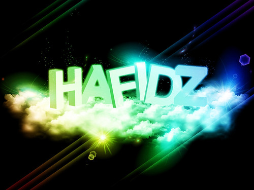Experiment on 3D Text Effect in Gimp