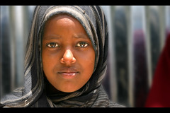 kebribeya school girl (LindsayStark) Tags: africa travel school portrait girl kids children war child refugee hijab conflict somali ethiopia schoolkids humanrights humanitarian somalia displaced refugeecamp humanitarianaid emergencyrelief waraffected conflictaffected jijiga