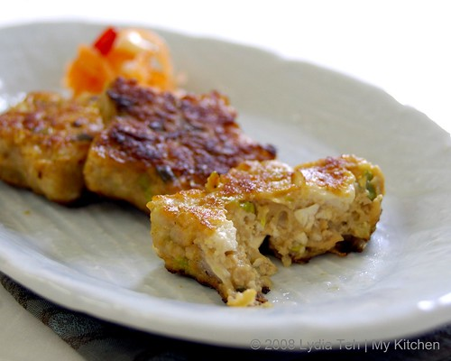 Miso Flavour Tofu and Meat Patties