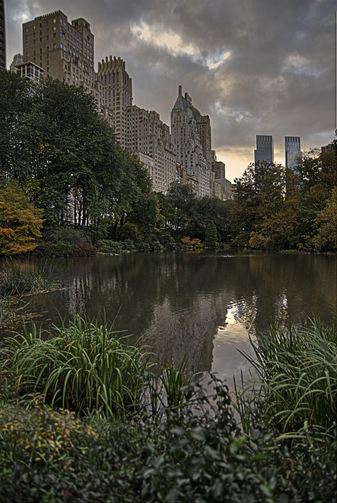 Central Park South East corner.