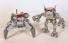 dueling mechs (S.L.Y) Tags: lego mech