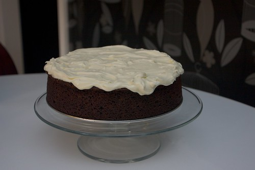 frothy cream cheese frosting