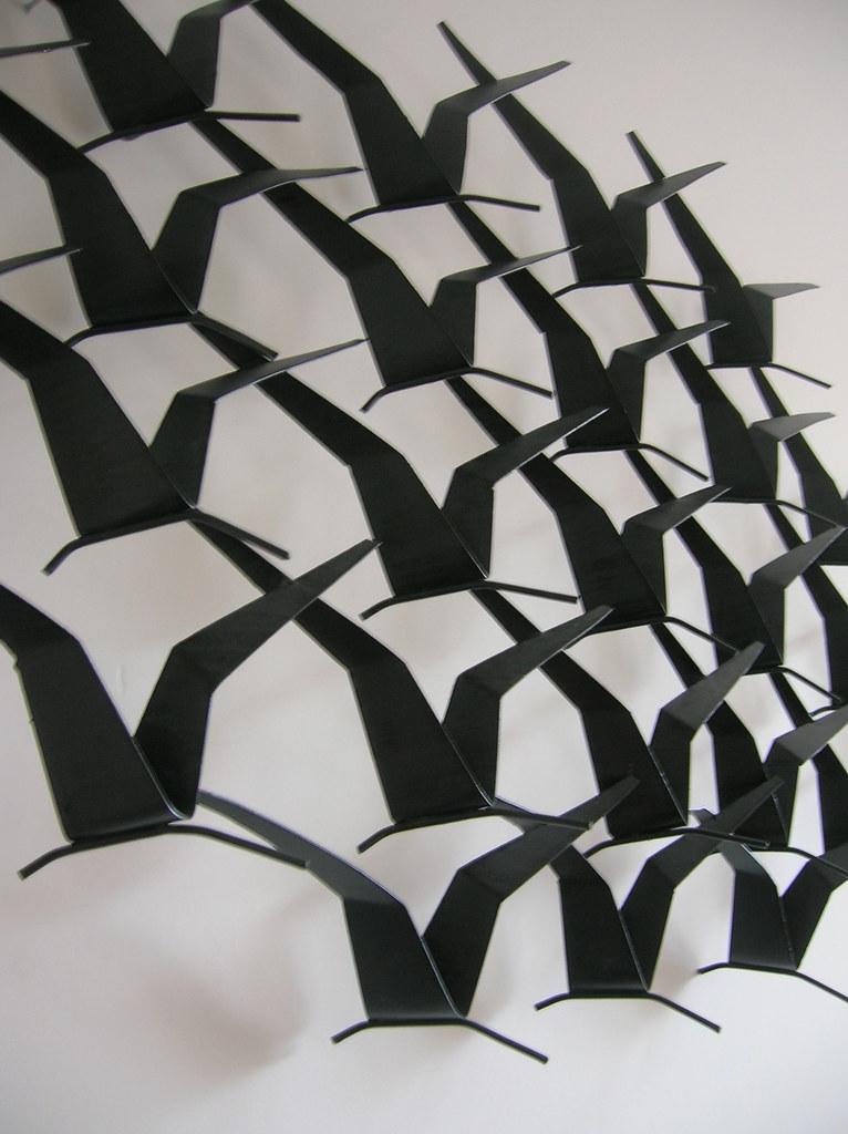 Escultura de Parede em ferro