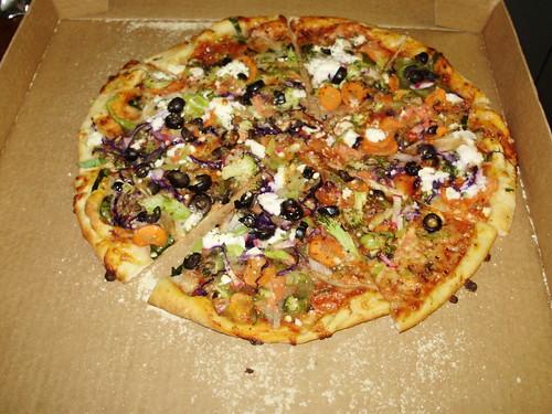 Chirio's veggie pizza