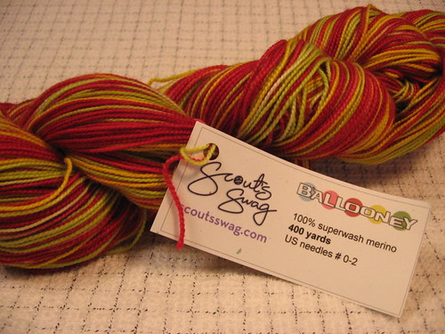 Ballooney yarn