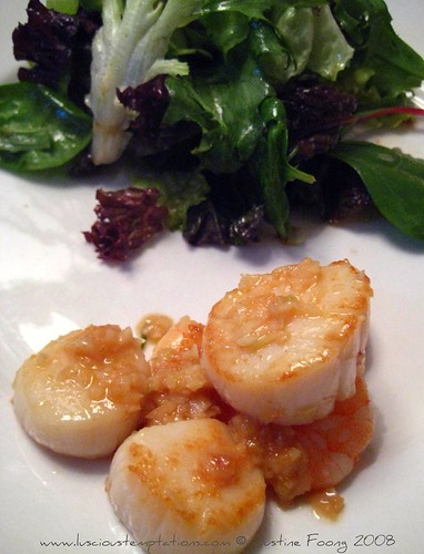 Sautéed Scallops and Prawns