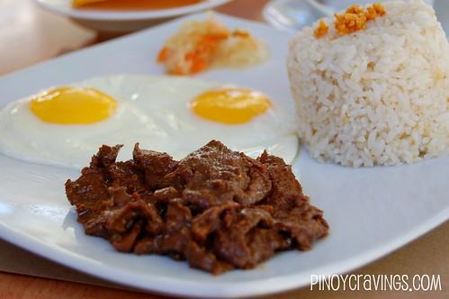 Beef Tapa @ Cafe Del Sol Boracay
