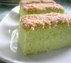 cake pandan kelapa