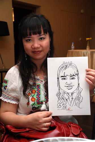 Caricature live sketching for Far East Organisation SPH Media Night The Miro 18