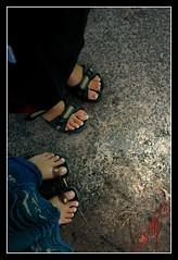 footnotes (Archana Ramaswamy) Tags: feet campus sunday mmc ramaswamy collegecampus archana dementa archanaramaswamy