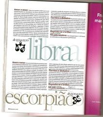 Horóscopo 2009 para Libra da Marie Claire