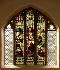 West window St. Margaret - Wolston