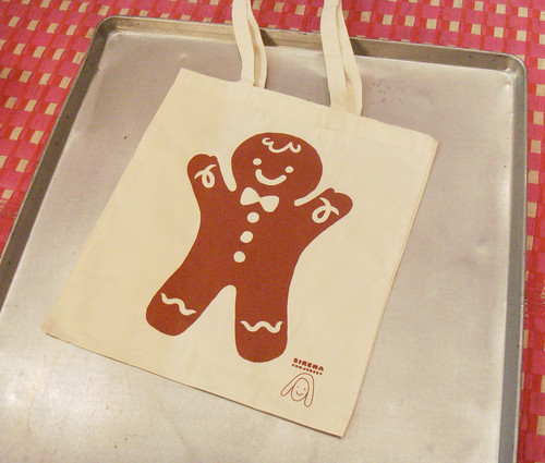 New xmas tote bag by Sirena con Jersey