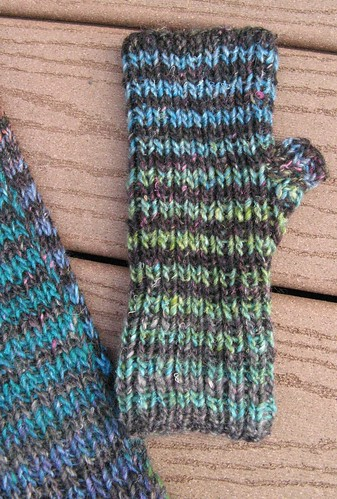 Noro Striped Mitts 2